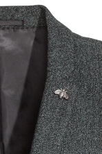 Jacket Skinny fit - Dark grey marl - Men | H&M 3