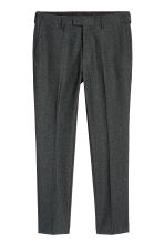 Suit trousers Skinny fit - Dark grey marl - Men | H&M CN 2