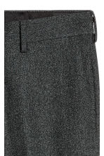 Suit trousers Skinny fit - Dark grey marl - Men | H&M CN 4