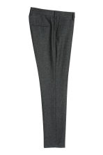Suit trousers Skinny fit - Dark grey marl - Men | H&M CN 3