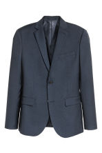 Blazer Slim fit - Blu scuro - UOMO | H&M IT 2