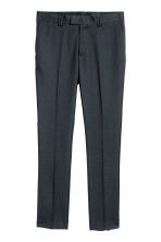 Suit trousers Slim fit - Dark blue - Men | H&M IE 2