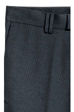 Suit trousers Slim fit - Dark blue - Men | H&M CN 4