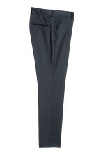 Suit trousers Slim fit - Dark blue - Men | H&M CN 3