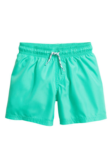Short swim shorts - Mint green -  | H&M 1