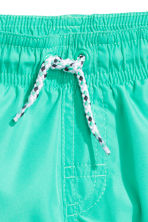 Short swim shorts - Mint green -  | H&M 2
