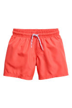 Short swim shorts - Coral red -  | H&M 1