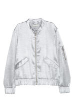 Bomber jacket - Silver - Ladies | H&M 2