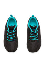 Mesh trainers - Black - Kids | H&M 2