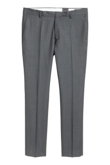 Wool suit trousers Slim fit