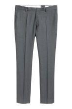 Wool suit trousers Slim fit - Dark grey - Men | H&M 2