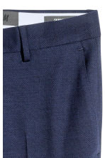 Wool suit trousers Skinny Fit - Navy blue - Men | H&M CN 4