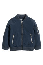 Bomber jacket - Dark blue - Kids | H&M CN 2
