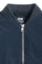 Bomber jacket - Dark blue - Kids | H&M CN 3