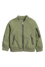 Bomber jacket - Khaki green - Kids | H&M CN 2