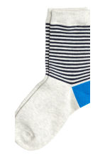 5-pack socks - Dark blue - Kids | H&M 4
