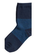 5-pack socks - Dark blue - Kids | H&M 3