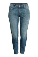 H&M+ Boyfriend Low Jeans - Dark denim blue - Ladies | H&M CN 2