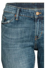 H&M+ Boyfriend Low Jeans - Dark denim blue - Ladies | H&M CN 4