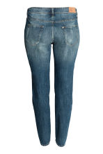 H&M+ Boyfriend Low Jeans - Dark denim blue - Ladies | H&M CN 3
