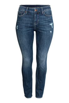 H&M+ Straight Regular Jeans