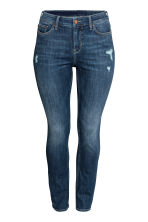 H&M+ Straight Regular Jeans - Dark denim blue - Ladies | H&M 2