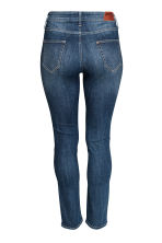 H&M+ Straight Regular Jeans - Dark denim blue - Ladies | H&M 3