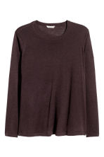 H&M+ Fine-knit jumper - Dark plum - Ladies | H&M 2