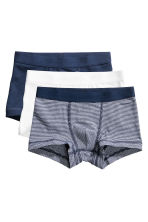 3-pack boxer shorts - Dark blue - Kids | H&M 1
