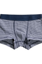 3-pack boxer shorts - Dark blue -  | H&M CN 3