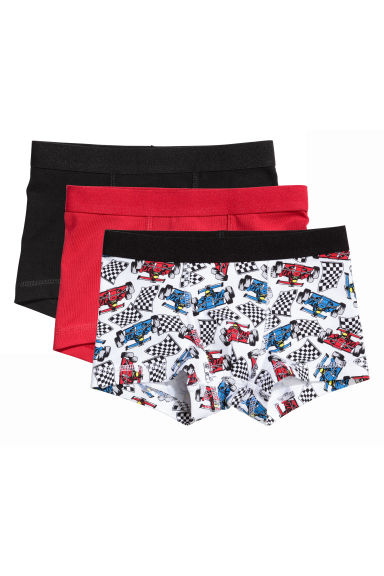3-pack boxer shorts - Red - Kids | H&M 1