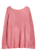 H&M+ Boat-neck jumper - Pink - Ladies | H&M 2