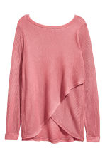 Boat-neck jumper - Pink - Ladies | H&M CN 3