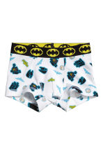 2-pack boxer shorts - White/Lego - Kids | H&M CN 2