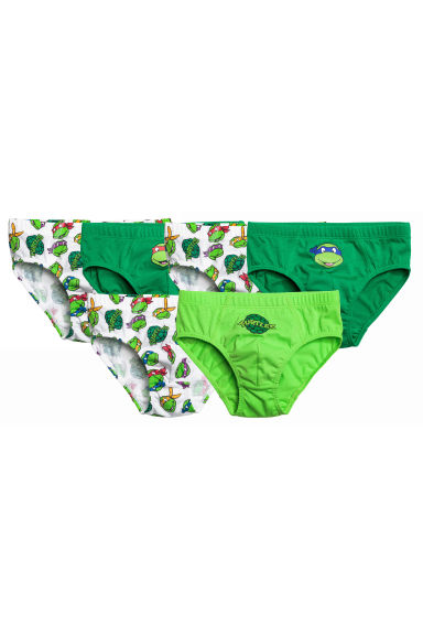 7-pack boys' briefs - Green/Turtles - Kids | H&M CN 1