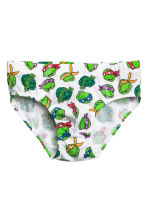 Slip, 7 pz - Verde/Turtles - BAMBINO | H&M IT 2