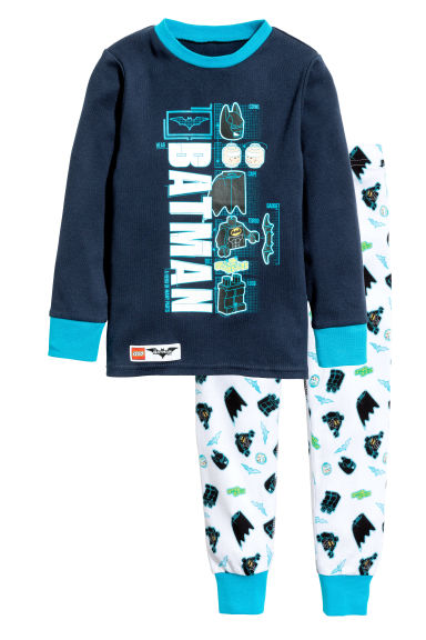 Pyjamas - Dark blue/Lego - Kids | H&M 1