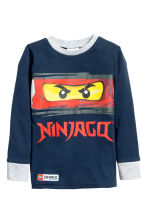 Pyjamas - Dark blue/Lego - Kids | H&M CN 2