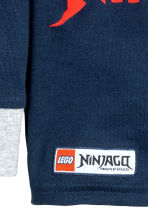 Pyjamas - Dark blue/Lego - Kids | H&M CN 3