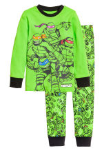 Pyjamas - Green/Turtles - Kids | H&M CN 1