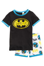 Jersey pyjamas - Black/Batman - Kids | H&M 1