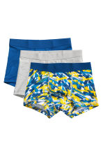 3-pack boxer shorts - Cornflower blue - Kids | H&M 1