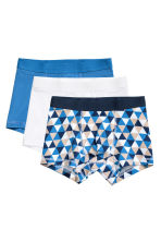 3-pack boxer shorts - Blue - Kids | H&M 1