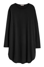 H&M+ Jersey tunic - Black - Ladies | H&M 2