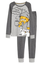 Jersey pyjamas - Grey/Garfield - Kids | H&M CN 1