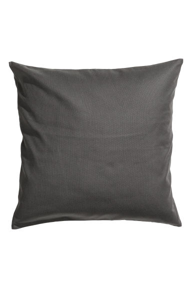 Copricuscino in tela di cotone - Grigio antracite - HOME | H&M IT