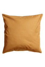 Housse de coussin - Jaune moutarde - Home All | H&M FR 1