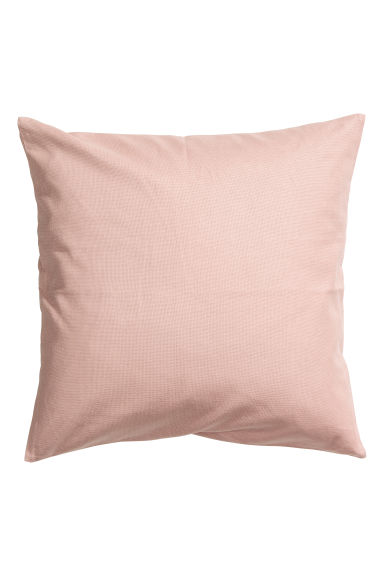 Cotton canvas cushion cover - Dusky pink - Home All | H&M CN 1