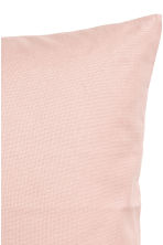 Cotton canvas cushion cover - Dusky pink - Home All | H&M CN 2