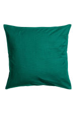 Copricuscino in tela di cotone - Verde scuro - HOME | H&M IT 1